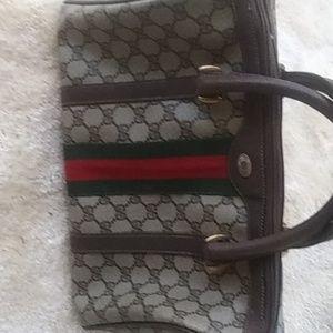 Vintage GUCCI 60 or 70 doctor bag. Excellent